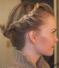 Lace #Braid to Bun #hair #missysue