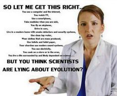 Not having proof and teaching it as fact doesn't make you any better than saying we were created ... wake up! and stop scientific theories, yes THEORIES are overthrown every year!
