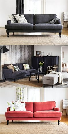 "New Sofa from Ikea ""Stocksund"". Will arrive at stores in Oktober 2014"