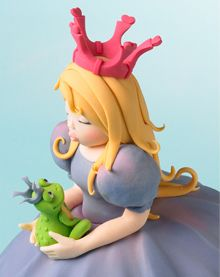 Tips on cake sculpting, sugarpaste and modeling paste recipie