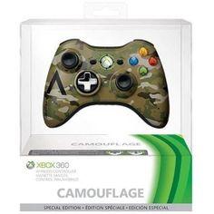 Xbox 360 Special Edition Camo Wireless Controller (Xbox 360) - Walmart.com