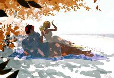 Kicking off summer. by PascalCampion.deviantart.com on @DeviantArt