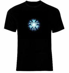 c9f34d62 Iron Man Arc Reactor Logo T-Shirt Neu 100% Cotton All Sizes | T-Shirts |  Shirts & Tops