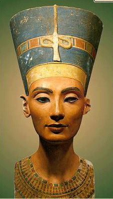 head of Nefertiti(ancient Egypt)