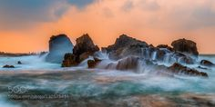 morethanphotography:    Sawarna beach West Java by hariwid