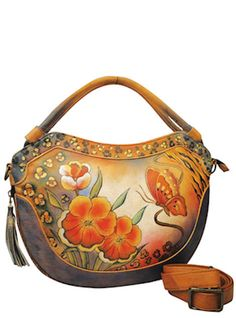 Anuschka hand painted leather hand bags - Wow!!! This is gorgeous!☆~☆
