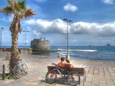Disfruta de un paseo en bicicleta por el barrio marinero de Las Palmas de Gran Canaria - Foto de Juan Ramon Rodriguez