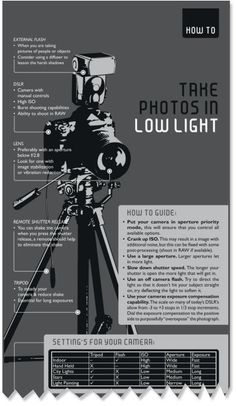 Low Light #Photography Tips for beginners