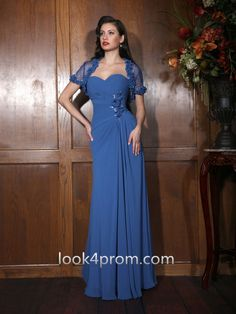 2015 Style Chiffon Mother of the Bride Dress