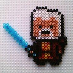 Obi-Wan Kenobi  - Star Wars hama beads by hadavedre