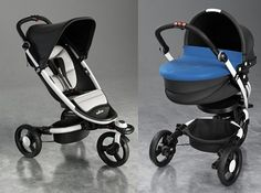 Fancy smanzy. I love it. I've spent entirely too much time researching strollers/prams!