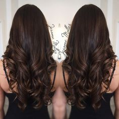 Hair color chocolate caramel brunettes 35 Ideas for 2019 Brown Hair Balayage, Brown Ombre Hair, Brown Blonde Hair, Brown Hair With Highlights, Brown Hair Colors, Dark Brown Hair Rich, Dark Chocolate Brown Hair, Brunette Highlights, Color Highlights