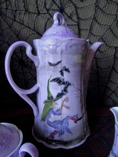 Witchy teapot