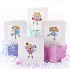 Lucie Heaton knows her way around cute! We love these fairy cards from the CSC September 226 issue: http://www.myfavouritemagazines.co.uk/stitch-craft/cross-stitch-collection-magazine-back-issues/cross-stitch-collection-september-13/