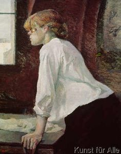 Henri de Toulouse-Lautrec - The Laundress, 1889