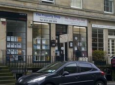 This epic shop name battle.   23 Things That Could Only Ever Happen In Edinburgh