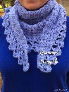 24 Fantastiche Immagini Su Sciarpe Alluncinetto Scarf Crochet