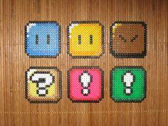 SMW: Block Coasters by Kricket1385
