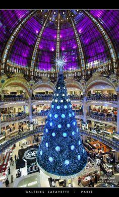 The Galeries Lafayette, Paris, France
