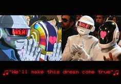 Daft Punk @ GRAMMYS Interstella... But this time they beat the crescendolls lol