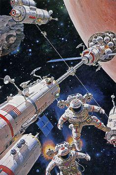 ... Mars expedition- Robert McCall