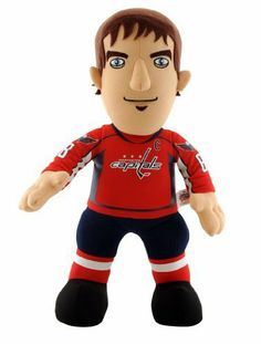 NHL Washington Capitals Alexander Ovechkin 14-Inch Plush Doll by Bleacher Creatures. $13.11. Bring your child's favorite NHL player home! This plush doll is the perfect toy for your young fan. Bleacher Creatures takes your favorite NHL player and transforms him into a lovable character to play with - encouraging fun, inspiration and play.