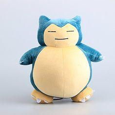 Pokemon Snorlax Soft Plush Figure Toy Anime Stuffed Animal 12 Inch Child Gift Doll by prozapoti – Pokemon Toys: Soft toys