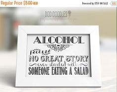 70% OFF THRU 6/18 Alcohol-because no great story by dodidoodles