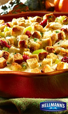 Always a classic the day after Thanksgiving! May we present...our delicious leftover Turkey Casserole. Dig in!