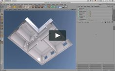 This tutorial shows a modeling workflow for an appartment.