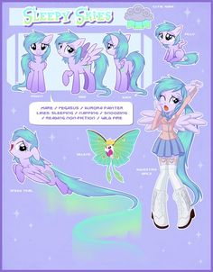 Sleepy Skies Reference Guide by Centchi on DeviantArt Equestria Girls, My Little Pony Equestria, Mlp Characters, My Little Pony Characters, Mlp My Little Pony, My Little Pony Friendship, Mlp Adoption, Arte Do Kawaii, Little Poni