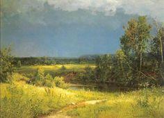 Before a Thunderstorm Ivan Ivanovich Shishkin - 1884