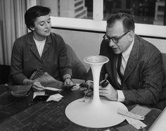Eero Saarinen and Florence Knoll Bassett