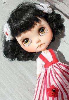 Berunka OOAK Custom Blythe Doll by Meadowdoll por meadowdolls