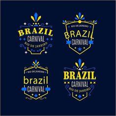 En güzel dekorasyon paylaşımları için Kadinika.com #kadinika #dekorasyon #decoration #woman #women free vector Happy Brazil Carnival Logos Background