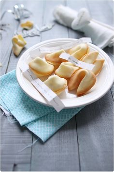Fortune Cookies maison