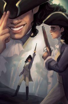 "Ham4Pamphlet: 45 Illustrators Draw the 46 Tracks of the ""Hamilton"" Cast Recording — Arielle Jovellanos"