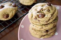 Mocha Dark Chocolate Chip Cookies - The perfect blend of coffee and chocolate flavors, packed into one deliciously soft cookie! sunnysideups.org