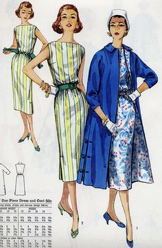 dress and coat by Millie Motts, via Flickr