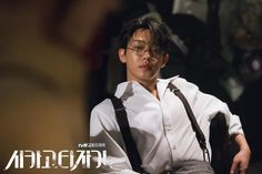 Yoo Ah In stills from Chicago Typewriter