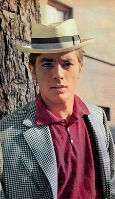 ALAIN DELON 1960's Iconic French actor heart-throb (Japan mag clipping) (S'il…