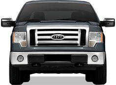 Ford F 150 XL STX FX4 ABS Plastic Grille Grill Overlay Chrome 1PC Top #SHOPZIES