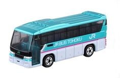 Takara Tomy Tomica #16 Isuzu Gala JR Bus Tohoku Diecast Car Vechicle Toy #Tomica