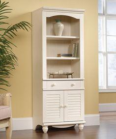 Furniture badezimmer hochschrank günstig kaufen Look what I found on #zulily! Harbor View Two-Door Library #zulilyfinds