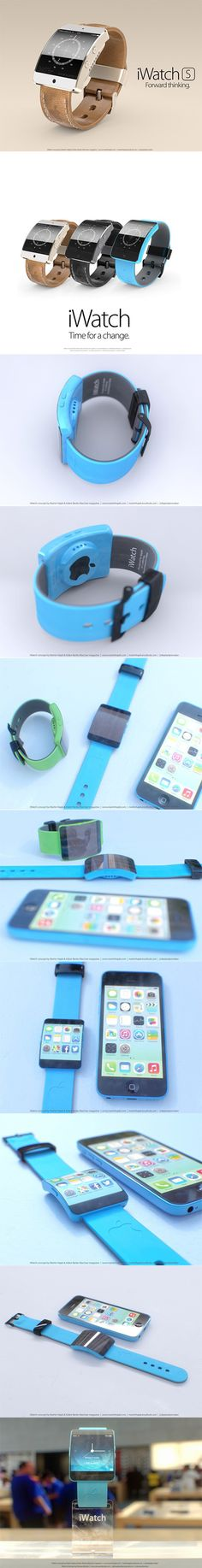 10 Incredible Pictures of Apple's Upcoming iWatch S
