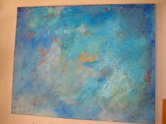 Original Gemälde 100x80 *Oasis* von Elbengard auf DaWanda.com