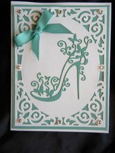 Cheap card card, Buy Quality card die cutting directly from China cards diy Suppliers: Metal Stencils Template High-heeled Shoes Cutting Dies DIY Scrapbooking Photo Album Decorative Embossing Folder Paper Cards 18th Birthday Cards, Birthday Cards For Women, Handmade Birthday Cards, 50th Birthday, Happy Birthday, Birthday Crafts, Birthday Woman, Cards Diy, Paper Cards