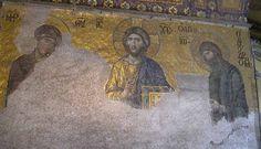 www.school.edu.ru :: Деисус. Мозаика храма Св. Софии в Константинополе