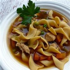 Chunky Chicken Noodle Soup - Allrecipes.com