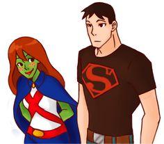 Miss-Martian-Superboy-miss-martian-and-superboy-20382690-689-605.png (689×605)